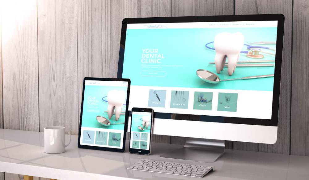 Surgery website on the phone, ipad or computer